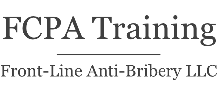 Front-Line FCPA Training
